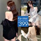 夏季韓國連線氣質名媛夜店洋裝 心機大露背立領吊頸襯杉式洋裝 約會必備戰袍