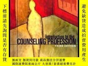 二手書博民逛書店Introduction罕見To The Counseling Profession (3rd Edition)-