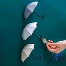 【6個裝】鑰匙架免打孔粘鉤雨傘掛鉤墻壁掛收納置物架【古怪舍】