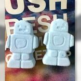 *Realhome* 英國手工香芬名牌 LUSH ~ 可愛機器人汽泡球 2入