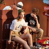情侶裝唐獅2019夏季新款情侶裝夏裝短袖t恤男潮牌寬鬆韓版學生半袖衣服 爾碩數位