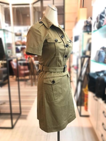 【雪曼國際精品】BURBERRY 經典 英倫貴族風 連身裙 9.5 成 新