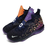 Nike 籃球鞋 LeBron XVII AS GS 17 Monstars 紫 金 女鞋 大童鞋 怪物奇兵 詹皇 氣墊 【PUMP306】 CW1036-400