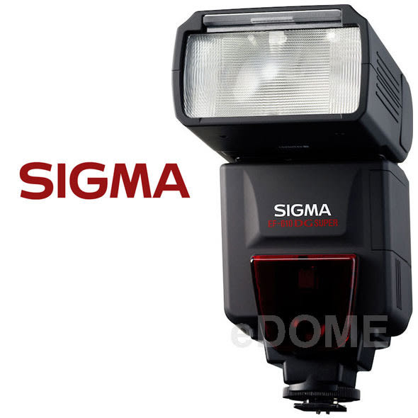 SIGMA EF-610 DG Super 閃光燈 (24期0利率 免運 恆伸公司貨) 支援 TTL
