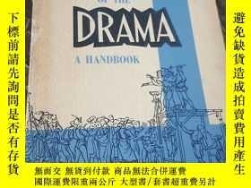 二手書博民逛書店aspects罕見of the drama a handbook