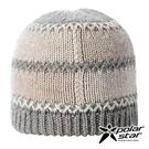 【PolarStar】中性 格子保暖帽『米色』P18601 羊毛帽 毛球帽 素色帽 針織帽 毛帽 毛線帽 帽子