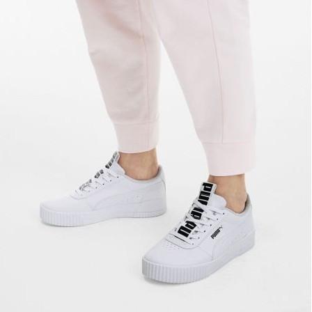 【折後$2080】PUMA CALI CHASE 百搭 復古鞋 黑白 休閒鞋 厚底 增高 37285301