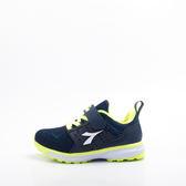 DIADORA  中童兒童 慢跑鞋 藍 DA8AKR6226