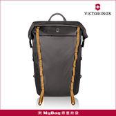 Victorinox 瑞士維氏 後背包 Altmont Active Rolltop Laptop 15吋電腦雙肩包 炭灰 TRGE-602135 得意時袋