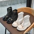 女童網靴2021夏季薄款男童鏤空童鞋透氣網紗涼鞋兒童馬丁靴短靴子 一米陽光