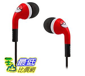 [美國直購] ThinkGeek 耳機 Pokemon Noise Isolating Earbuds w/ Mic 神奇寶貝 精靈寶可夢周邊
