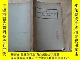 二手書博民逛書店THE罕見PRONUNCIATION OF ENGLISH(英語