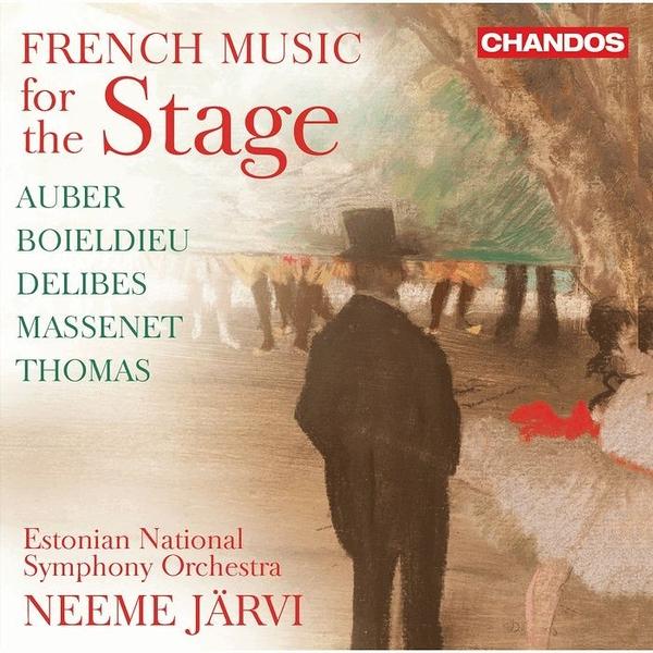 【停看聽音響唱片】【CD】給舞台上表演的法國音樂 尼米.賈維 指揮 愛沙尼亞國家交響樂團
