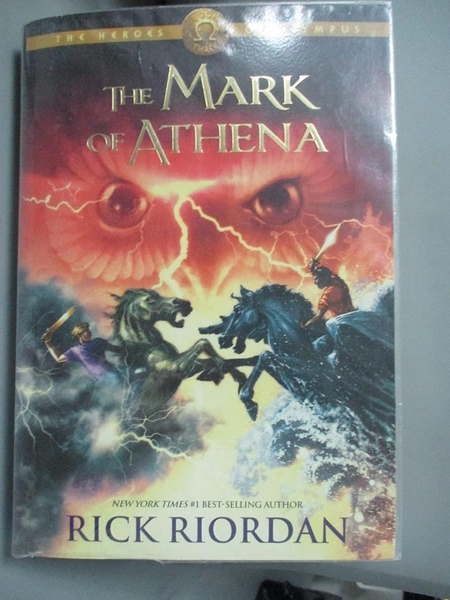 【書寶二手書T1/原文小說_JJQ】The Heroes of Olympus, Book Three: The Mark of Athena