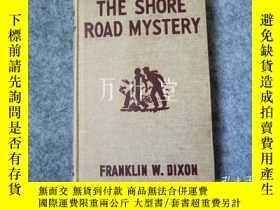 二手書博民逛書店萬葉堂罕見英文老版童書 the shore road mystery Y25771 franklin w.di
