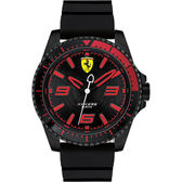 Scuderia Ferrari 法拉利 XX KERS 競速手錶-黑/44mm 0830465