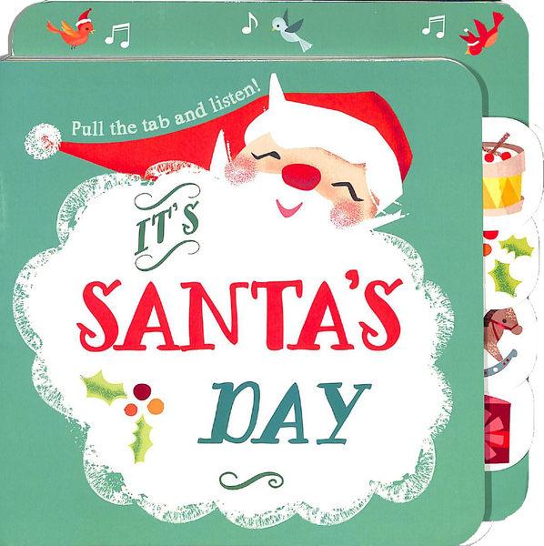 Pull The Tab And Listen! It's Santa's Day 聖誕老公公的一天 硬頁有聲書