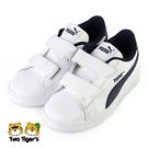 PUMA Smash 2v L V PS 運動鞋 中童 藍白 NO.R6814(36517304)