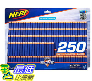 [COSCO代購] W124616 Nerf Elite 彈標補充包 250入 Nerf Elite Dart 250 Packs