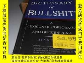 二手書博民逛書店A罕見DICTIONARY OF BULLSHIT 英文原版Y2