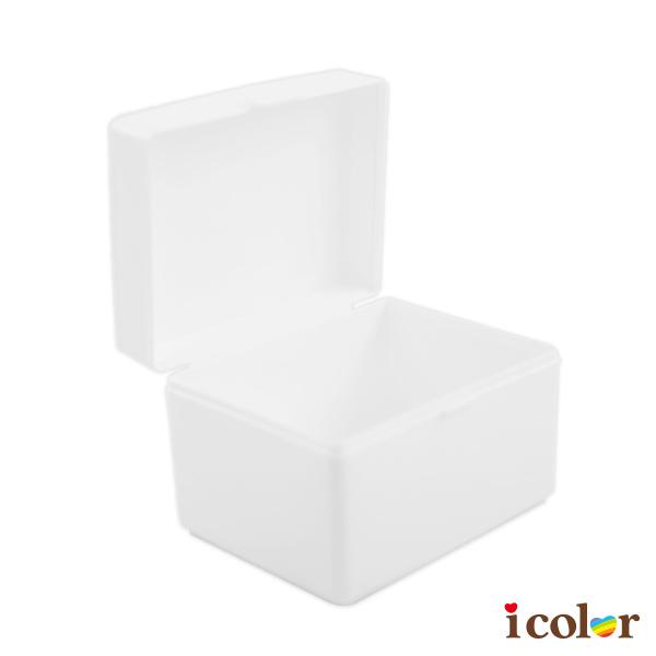 i color 日本製 純白正方形萬用收納盒
