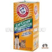 【寵物王國】美國進口鐵鎚貓砂除臭粉20oz-經典香味