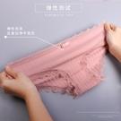 女内裤 內褲女100%純棉襠抗菌 低腰蕾...