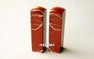 頂級紅碧玉開運印章《半手工噴砂》六分,正常高度,單章。全配包裝。傳家手工印章