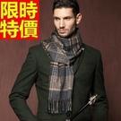 圍巾羊毛拼色毛線-針織秋冬保暖加厚英倫風圍脖24款64t6【巴黎精品】