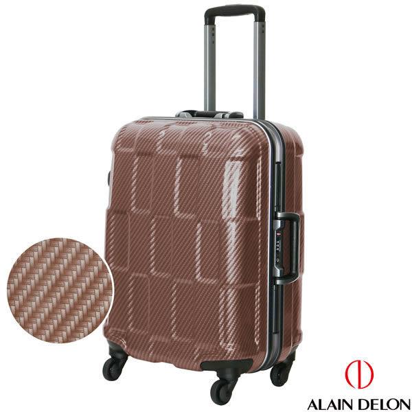 ALAIN DELON- 20吋 TPU系列鋁框行李箱.巧克力色313-0820-05