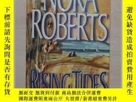 二手書博民逛書店英文原版罕見Rising Tides by Nora Rober