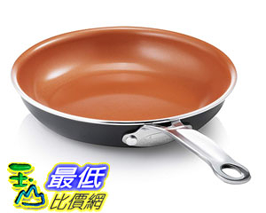 [8美國直購] 不沾鍋 GOTHAM STEEL 9.5 inches Non-stick Titanium Frying Pan by Daniel Green B018T909XG