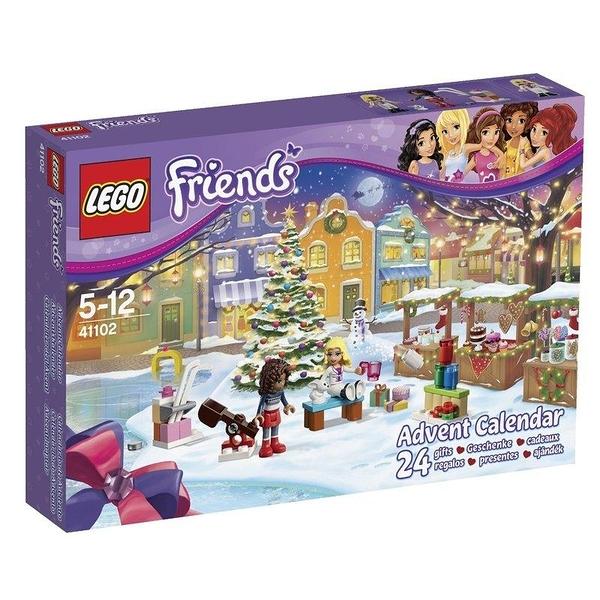 LEGO 樂高 FRIENDS 系列 ADVENT CALENDAR 2015聖誕年曆 41102