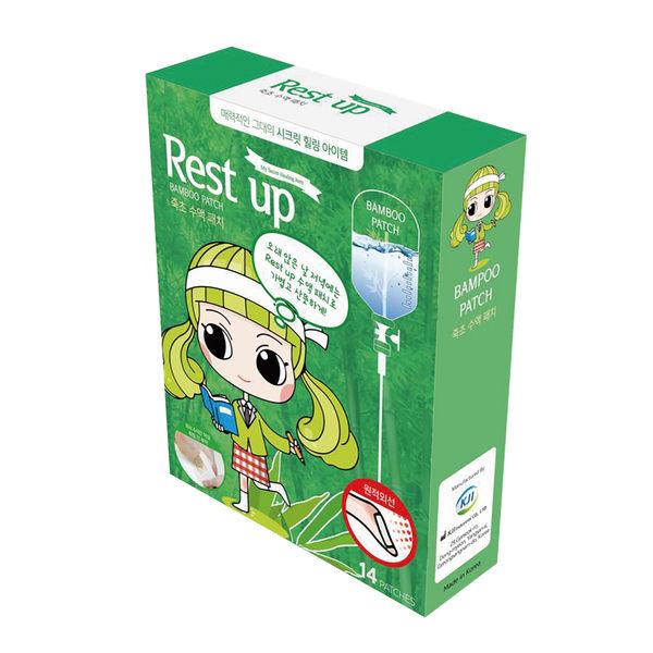 Rest Up 足底舒適貼片 竹醋液 [一般款] (14入/盒)