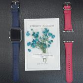 蘋果錶帶 星圖 軟真皮 蘋果Apple Watch手錶帶iWatch1/2/3/4代 星河光年