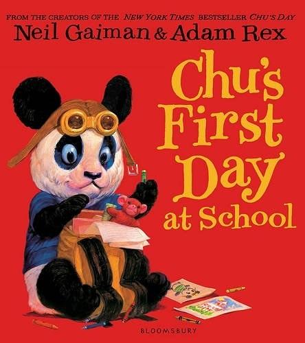 【麥克書店】CHU'S FIRST DAY AT SCHOOL / 平裝繪本《主題: 上學去 Goes to School》