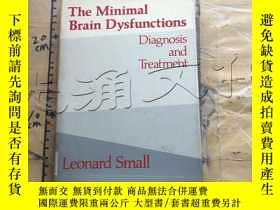 二手書博民逛書店The罕見Minimal Brain DysfunctionsY