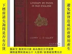 二手書博民逛書店Literary罕見by-paths in old Englan