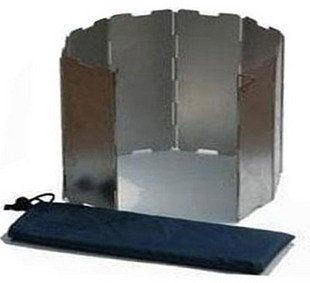 戶外野餐燒烤必備品 鋁合金擋風板