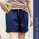Carphanie卡芬妮 100%棉韓版軍風女生短褲-3色