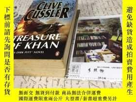 二手書博民逛書店英文原版罕見treasure of KhanY181828 Cl
