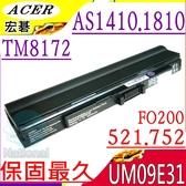 ACER 電池-宏碁 電池-TIMELINE 1410,1810T,AS1410,AS1810TZ,UM09E36,FO200,752,UMO9E32,UMO9E51,UMO9E56