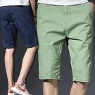 【中大碼】休閒短褲/運動褲/五分褲/卡其短褲 4色 34-38碼【LX68174】