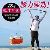 海竿甩桿海桿超硬海釣竿遠投拋竿魚竿漁具組合套裝釣魚竿 (橙子精品)