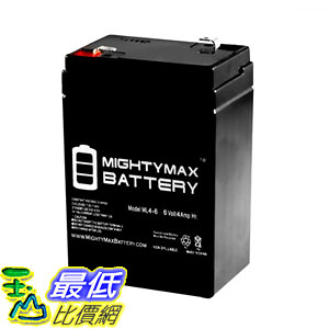 Mighty Max Battery 6V 4.5AH SLA Battery Replacement for Carpenter Watchman 713527