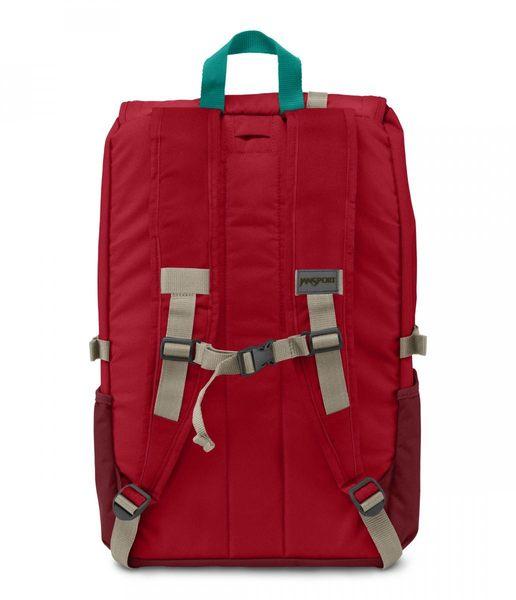 JANSPORT 校園後背包 可放筆電15吋-紅-42010 百貨專櫃限定款