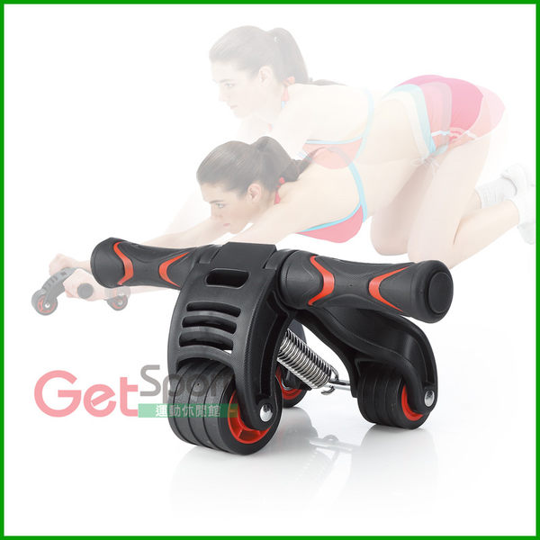 GetSport運動休閒館-吸震健腹輪