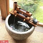陶瓷魚缸竹子過濾器圓缸瓷缸增氧上置過濾盒魚盆過濾設備靜音 【快速出貨】