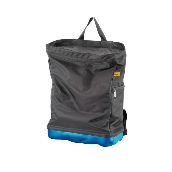Crash Baggage Bump Bags, 13 吋 前衛霧面 龐克系列 防潑水 後背包 / 筆電包(黑色袋身 - 輕漾藍硬殼)