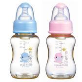 KU.KU酷咕鴨 新防脹氣PES葫蘆奶瓶 150ml【德芳保健藥妝】顏色隨機出貨